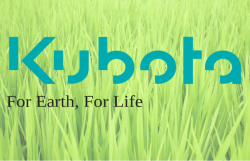 Kubota For Earth For Life