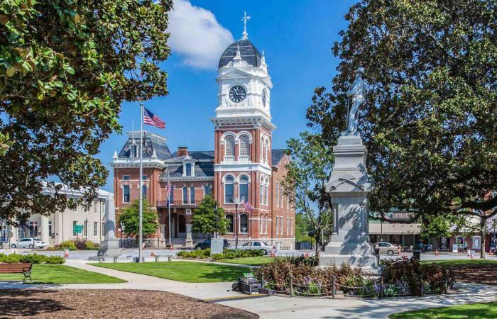 Bainbridge, Georgia town square
